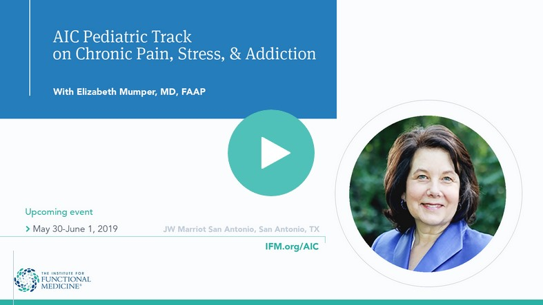 Pediatric Pain, Stress, and Addiction